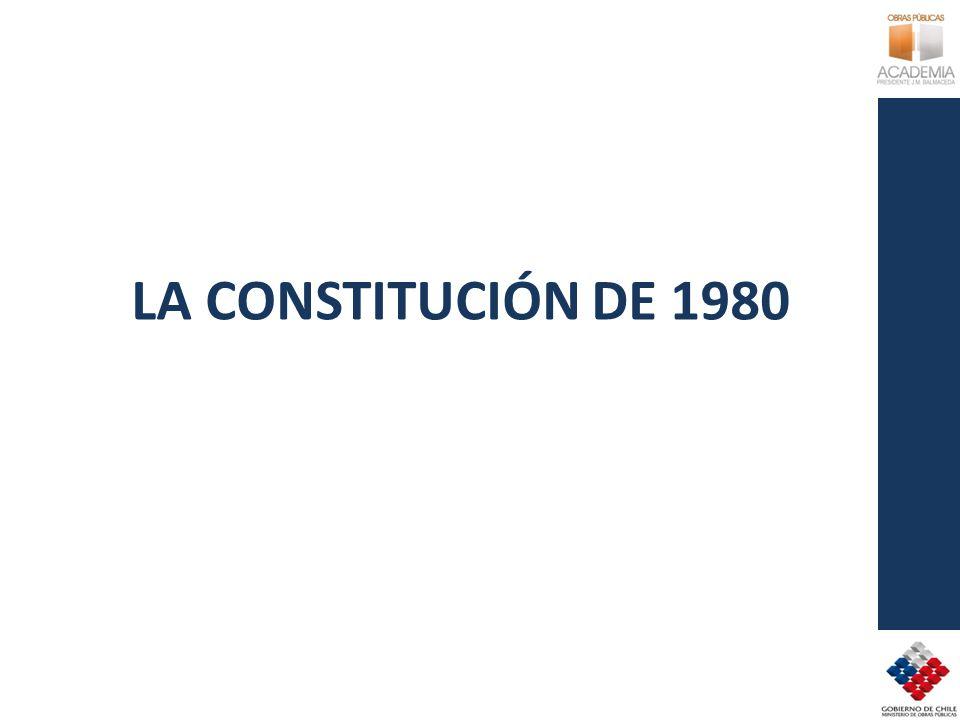 LA CONSTITUCIÓN DE 1980