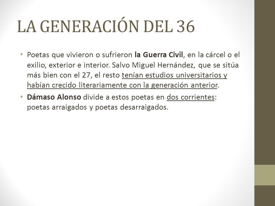 AUTORES Ángel González.Alterna poesía intimista y social y el tono irónico con el coloquial.