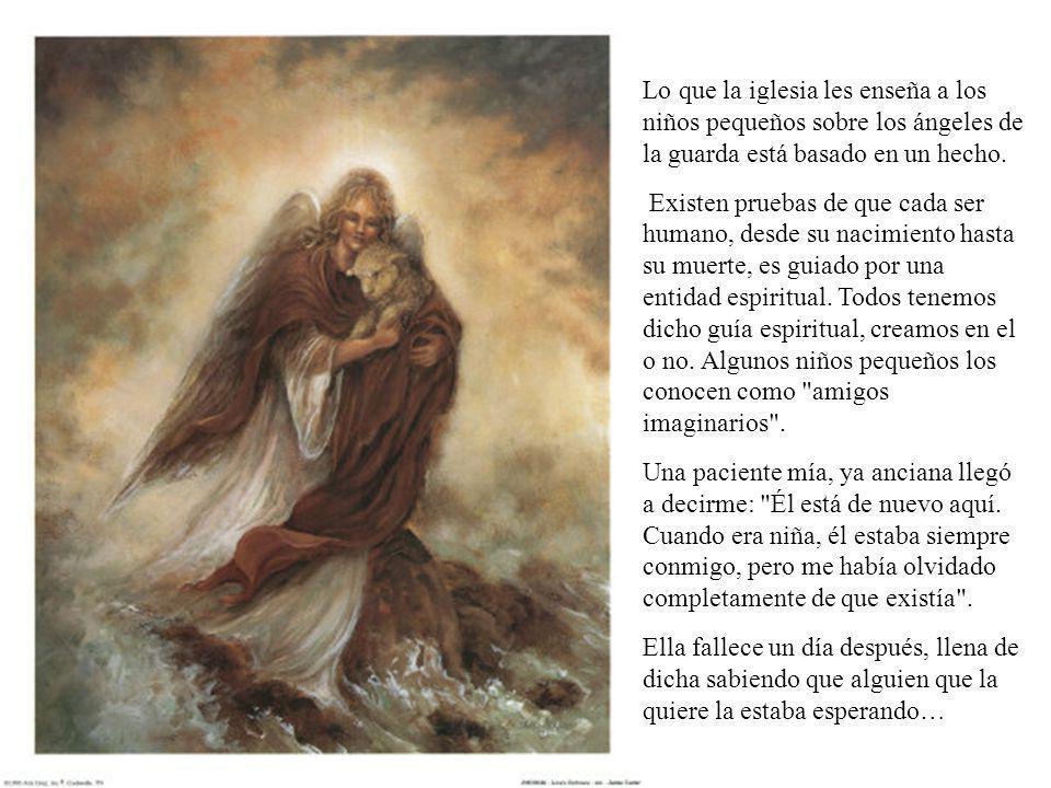 Lo que la iglesia les enseña a los niños pequeños sobre los ángeles de la guarda está basado en un hecho.