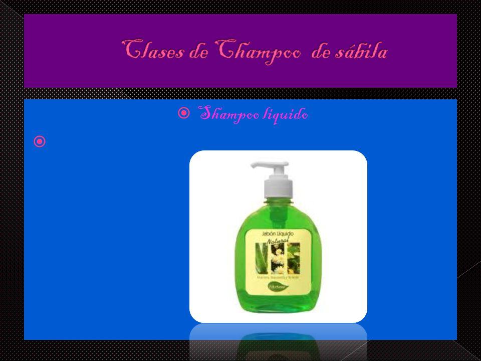 Shampoo liquido