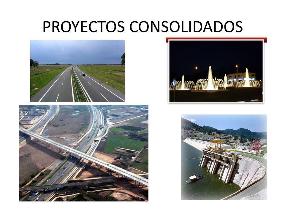 PROYECTOS CONSOLIDADOS