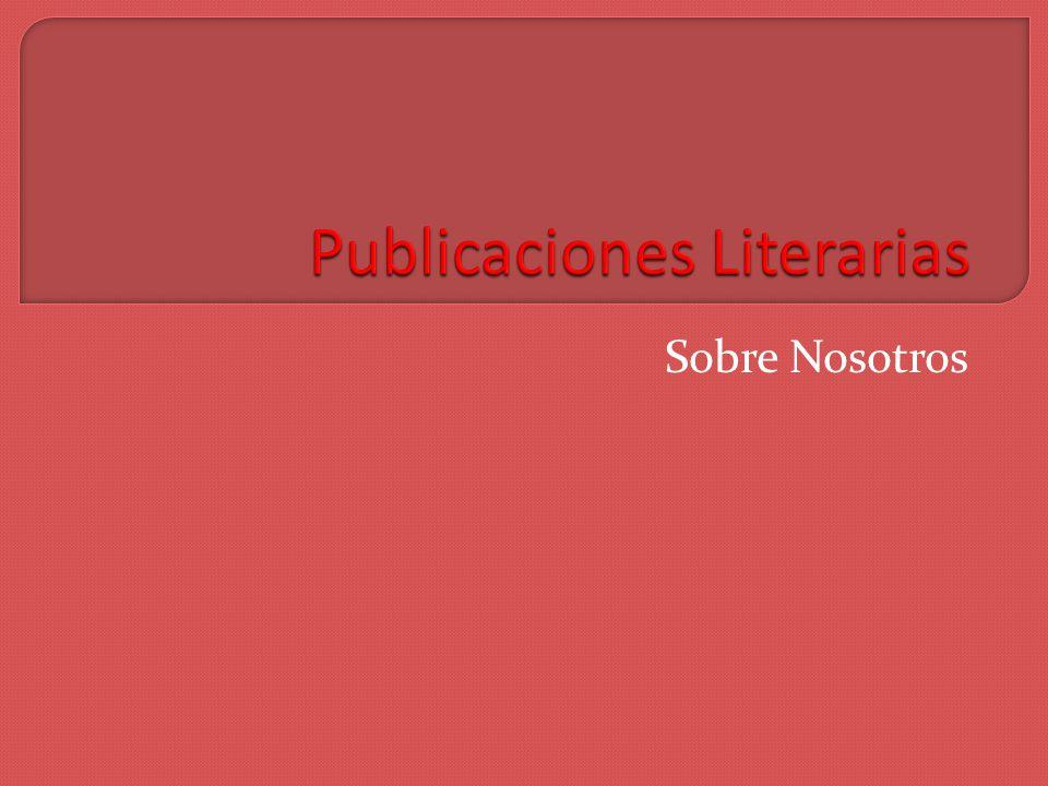 Servicios editoriales carolina.