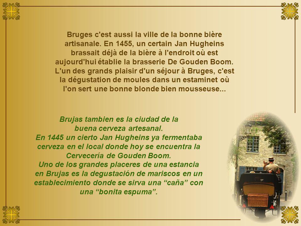Bruges c est aussi la ville de la bonne bière artisanale.