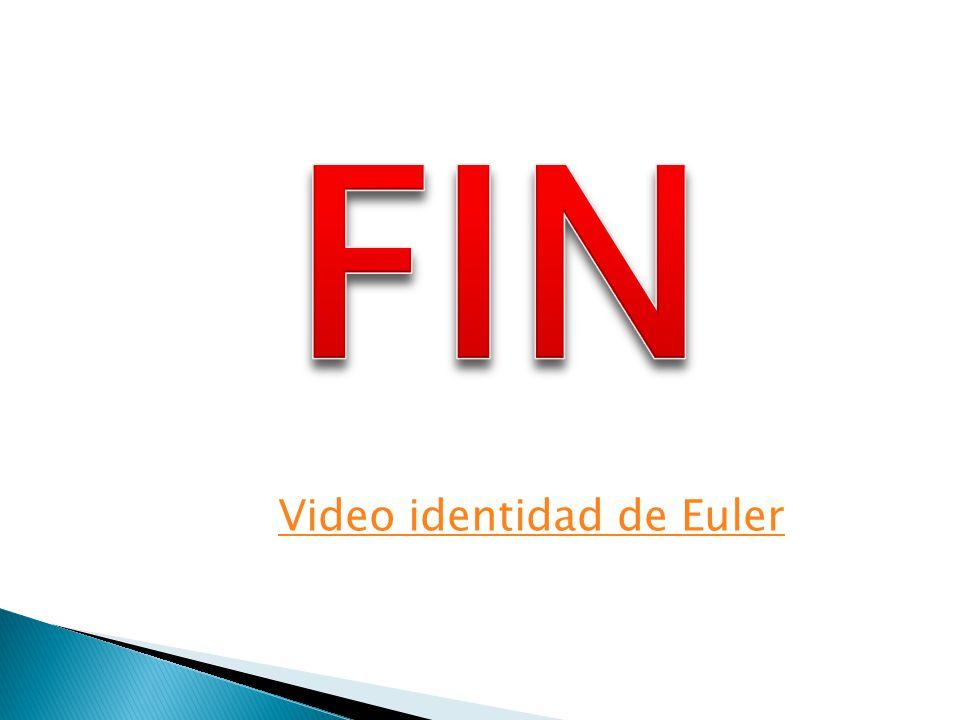 Video identidad de Euler