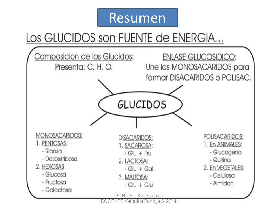 Resumen IPCHILE - Kinesiologia DOCENTE:Veronica Pantoja S. 2014