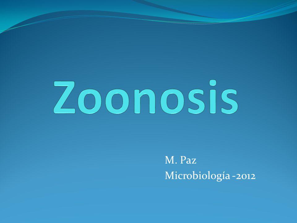 M. Paz Microbiología -2012