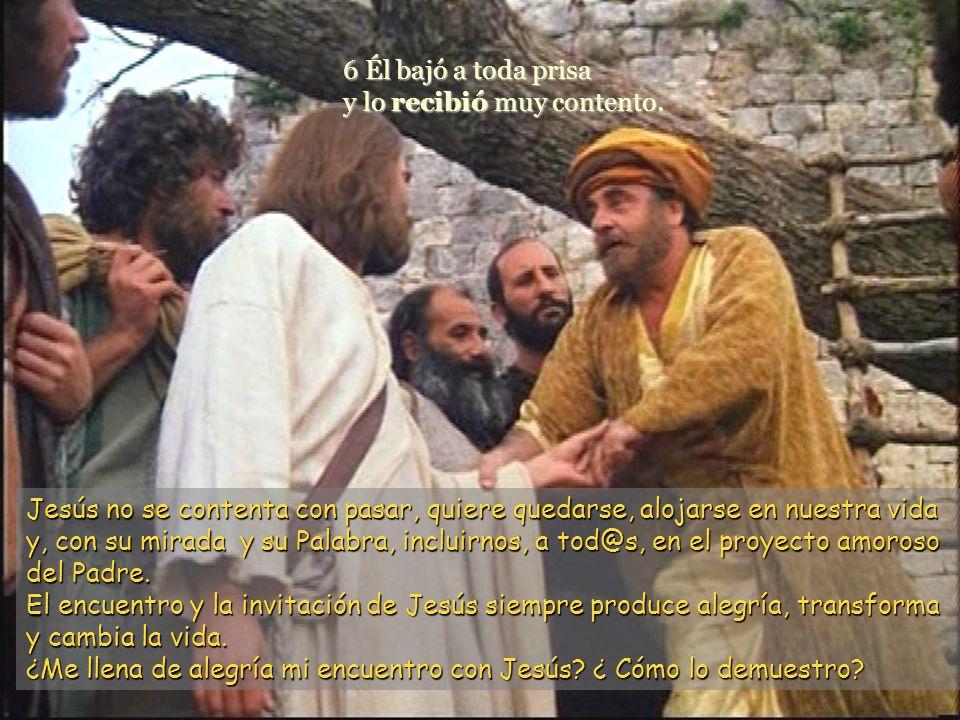 www.vitanoblepowerpoints.net 5 Cuando Jesús llegó a aquel lugar, levantó los ojos y le dijo: –Zaqueo, baja en seguida, porque hoy tengo que alojarme e