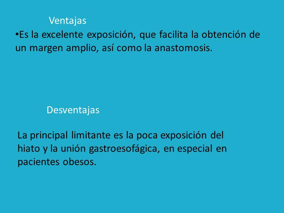 ESOFAGECTOMIA TRANSHIATAL: EXTIRPAR NEOPLASIAS DEL TERCIO SUPERIOR E INFERIOR DEL ESOFAGO.