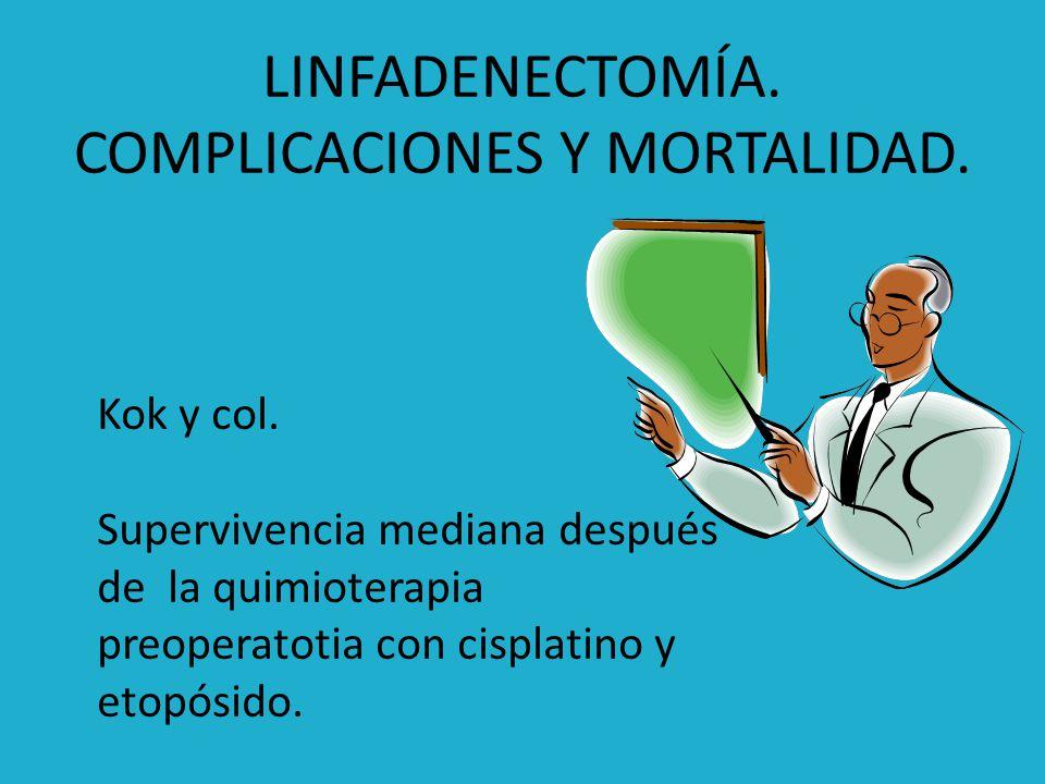 Quimioterapia Efectos sistémicos Combinación cisplatino y 5-fluoracilo: no hay gran mejoría en sobrevida.