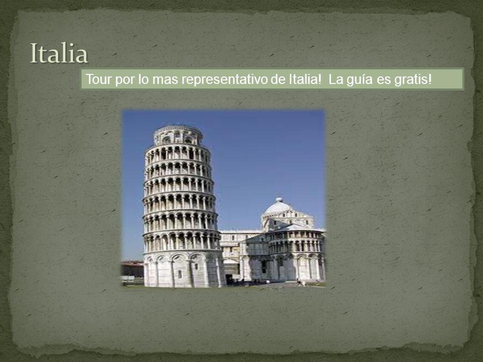 Tour por lo mas representativo de Italia! La guía es gratis!