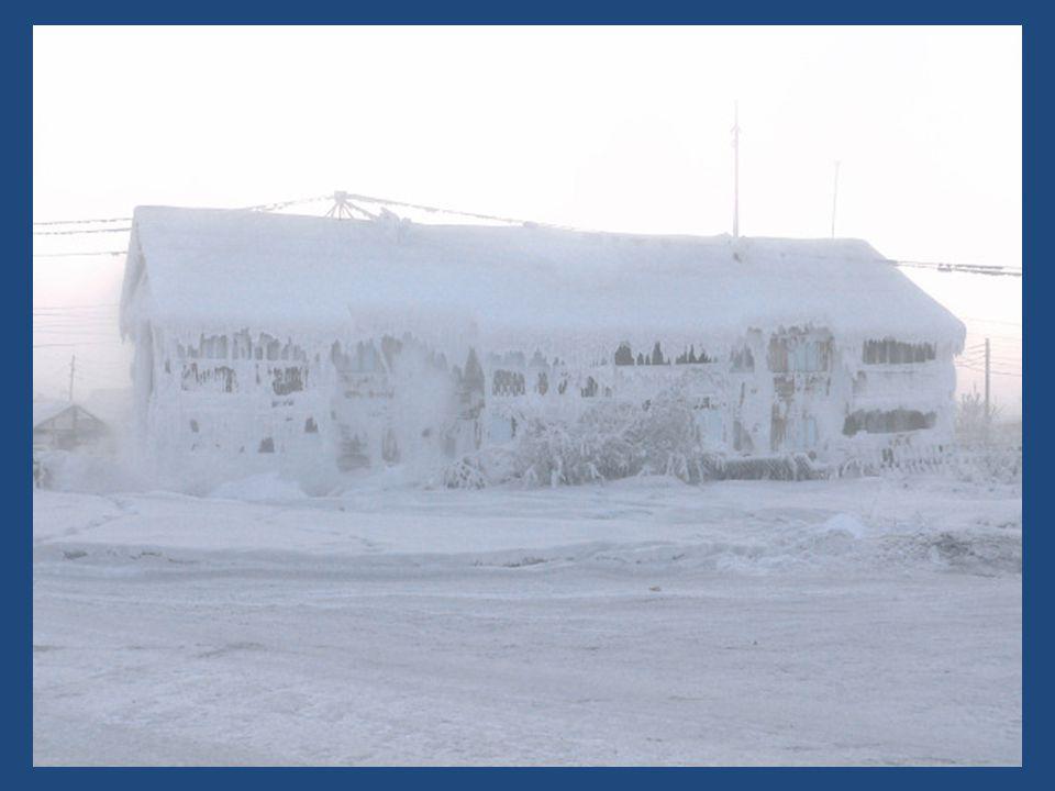 Curiosamente el nombre Oymyakon significa agua que no se congela y es por la presencia de una fuente de aguas termales que resultó ideal para la instalación de la ciudad.
