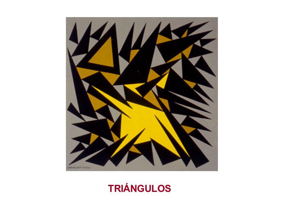 1 - CLASIFICACIÓN 1.1 Por sus lados : 1.1.1.Equiláteros: triángulos con tres lados iguales 1.1.2.