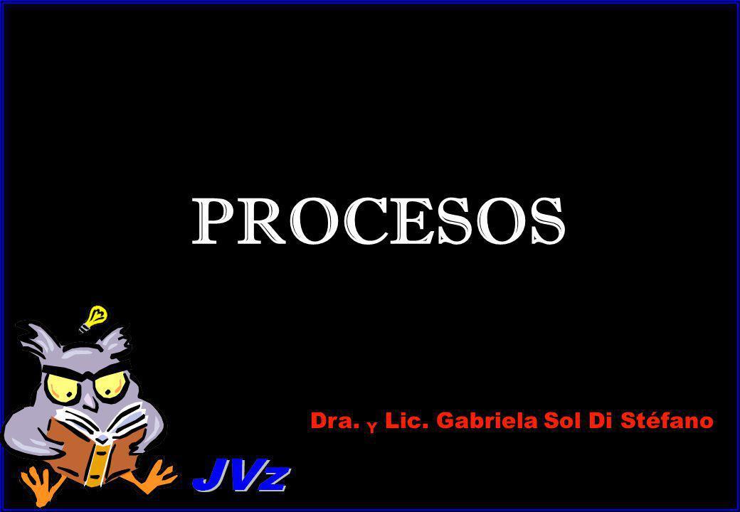 PROCESOS Dra. Y Lic. Gabriela Sol Di Stéfano
