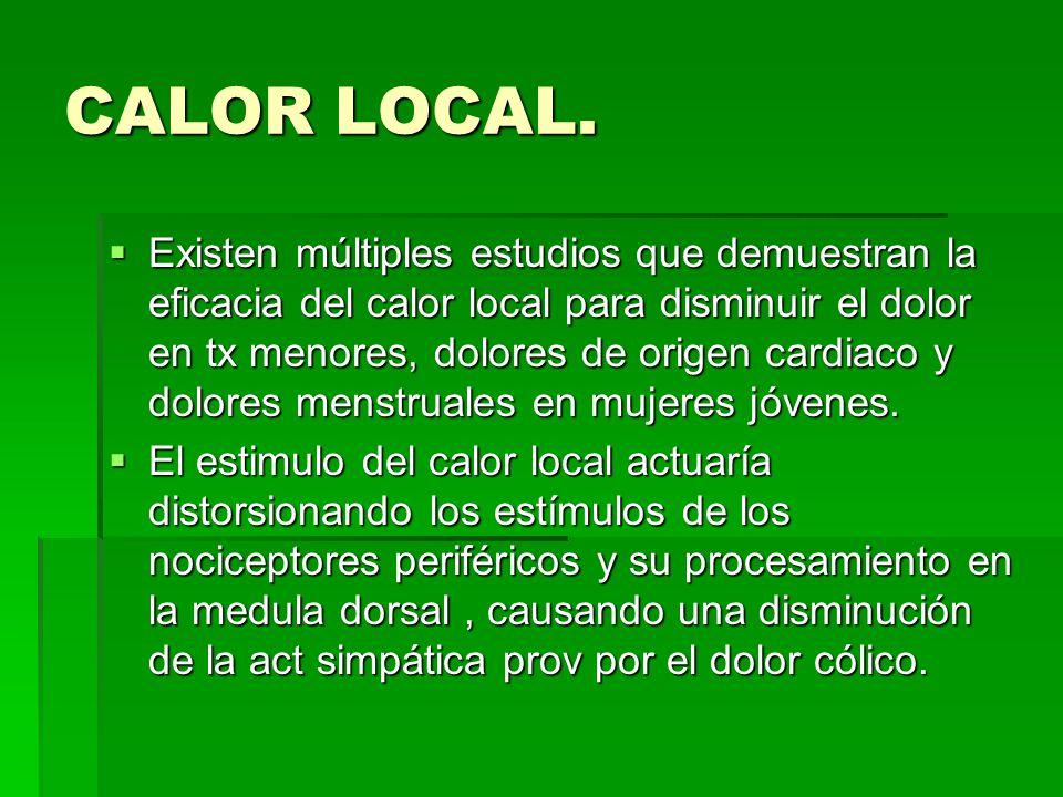 CALOR LOCAL.