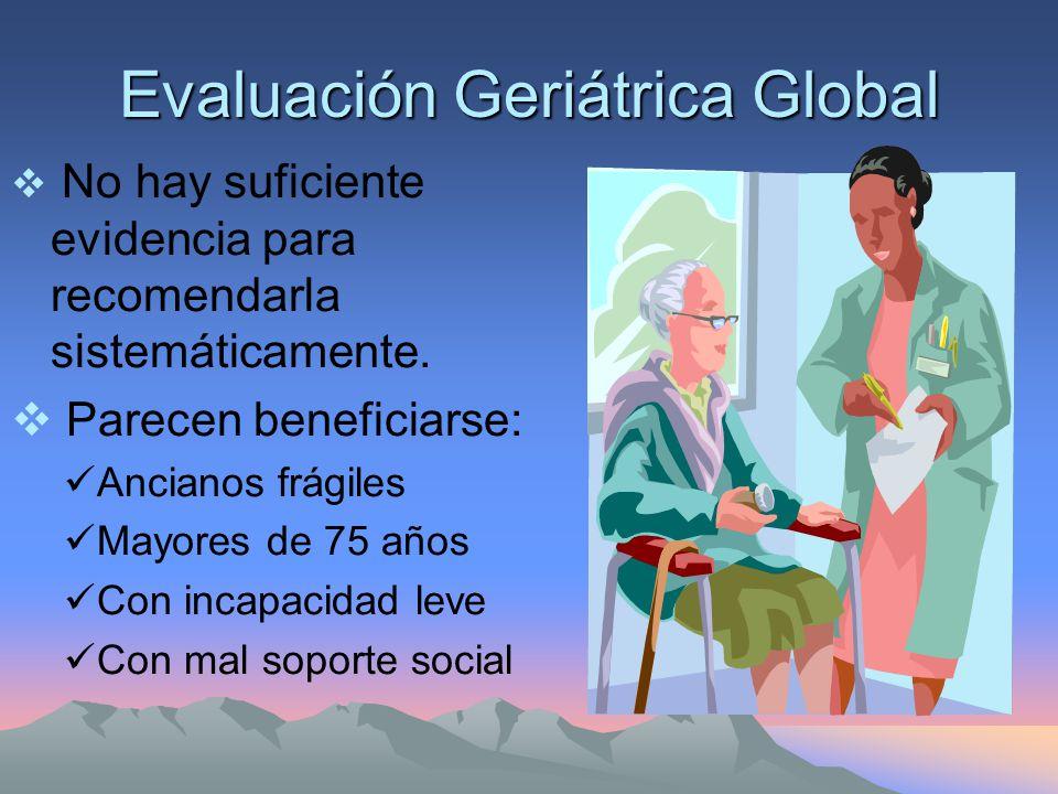 Problemas de Salud en el Anciano Causas Principales de muerte: Enf.