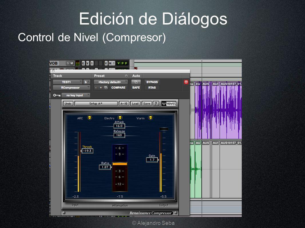Control de Nivel (Compresor) Edición de Diálogos © Alejandro Seba