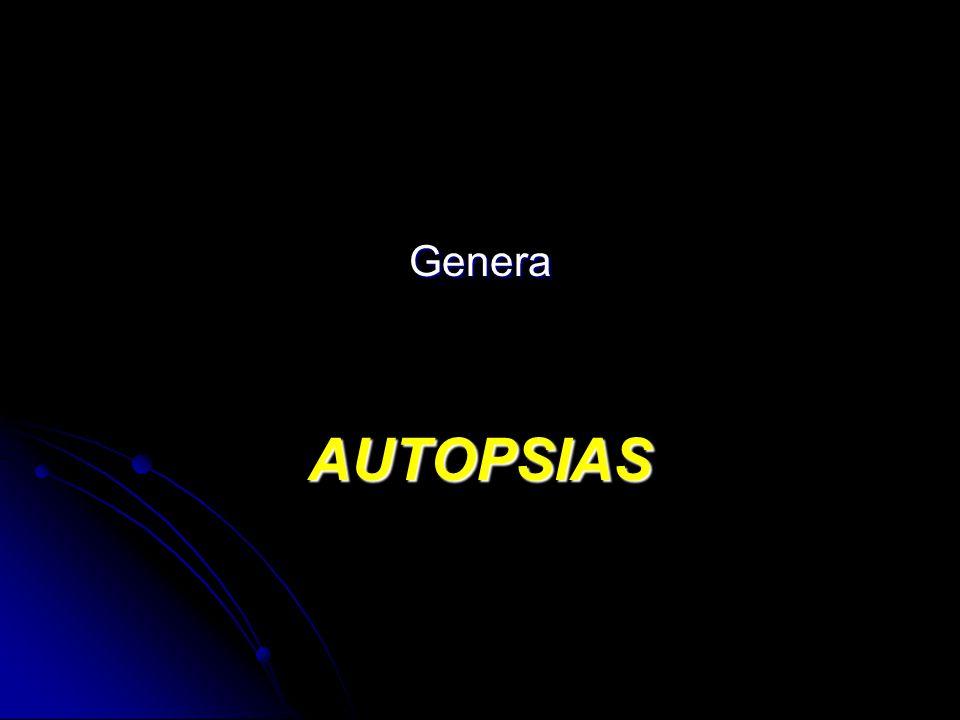 GeneraAUTOPSIAS