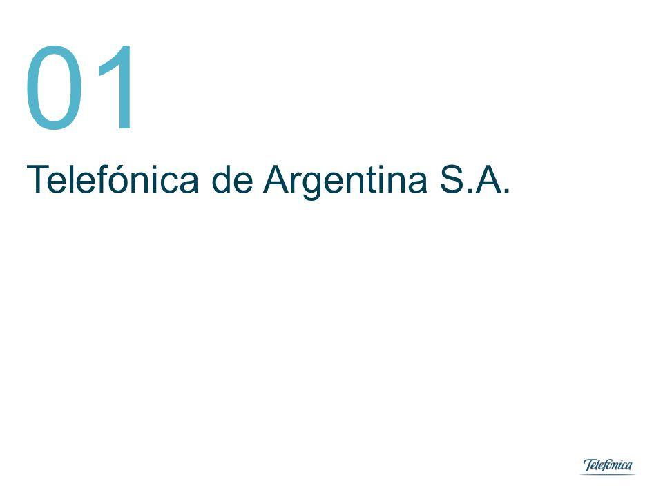 Área: Lorem ipsum Razón Social: Telefónica 3 01.Telefónica de Argentina S.A.