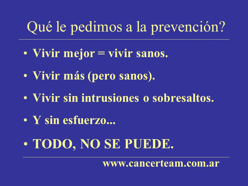 Screening del cáncer de próstata Nivel de PSA seguro.