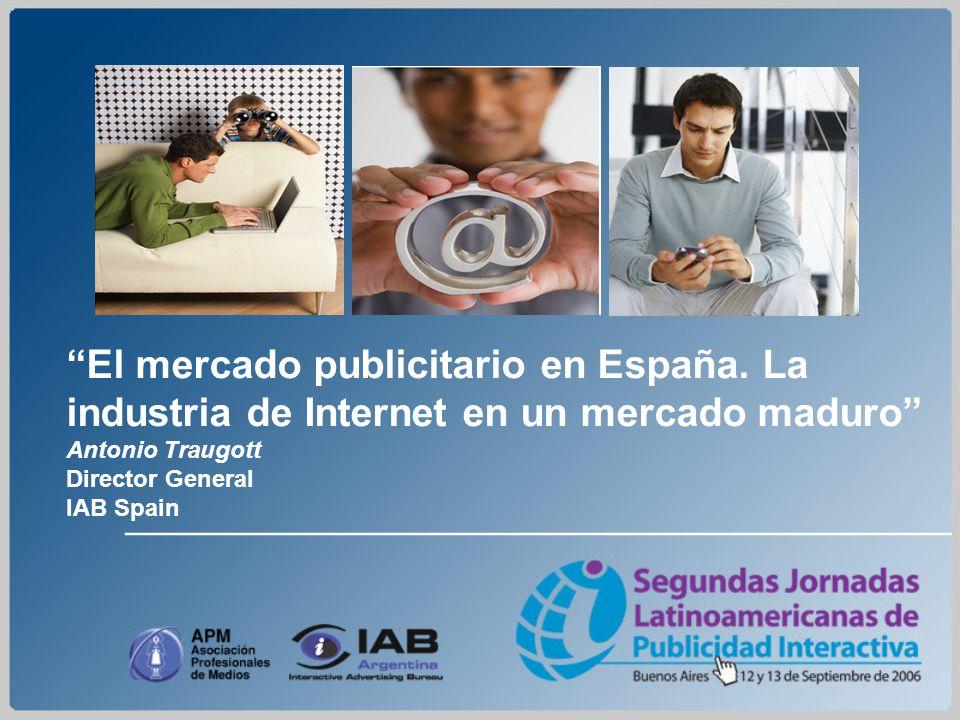 El mercado publicitario en España.