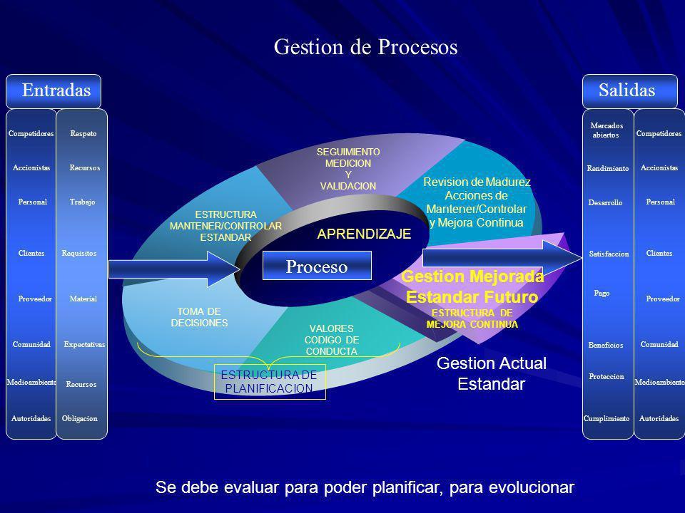 Proceso Producto o Servicio con caracteristicas requeridas proporcionado Solicitud de Producto o Servicio con caracteristicas requeridas no proporcionado Capacidad Proporcionada Recursos Proporcionados Evaluacion del Desempeno VA VNAN VNA