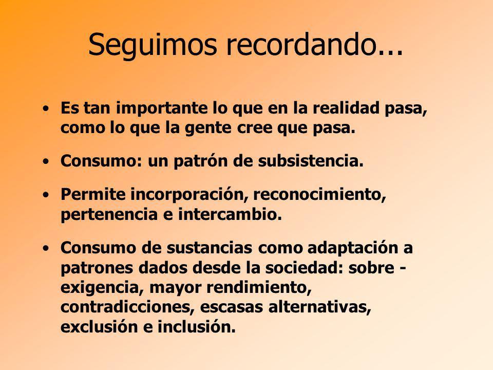 Prevención Ejes: Inclusión Participación Acciones Inespecíficas y Específicas Reducción de Daños
