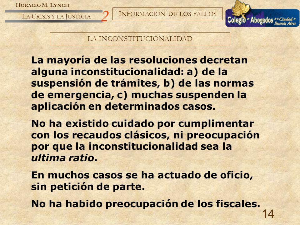 H ORACIO M.