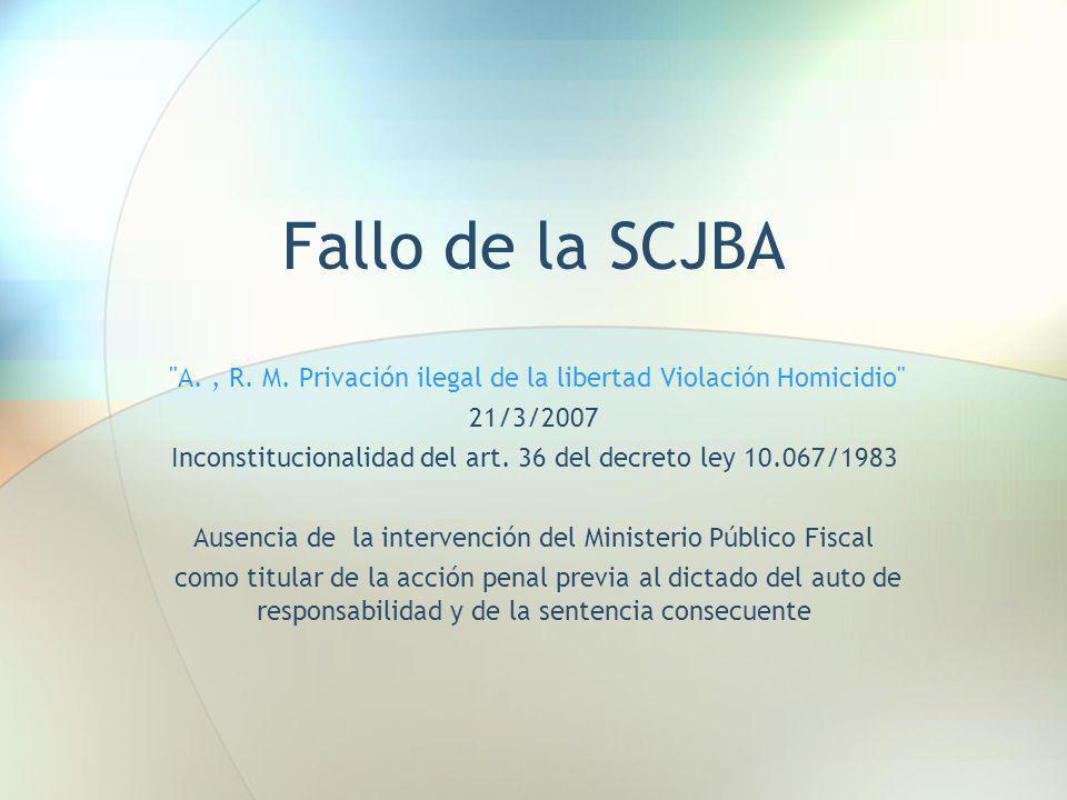Fallo de la SCJBA