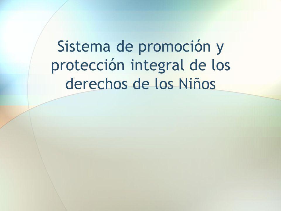 Sistema de promoción y protección integral de los derechos de los Niños