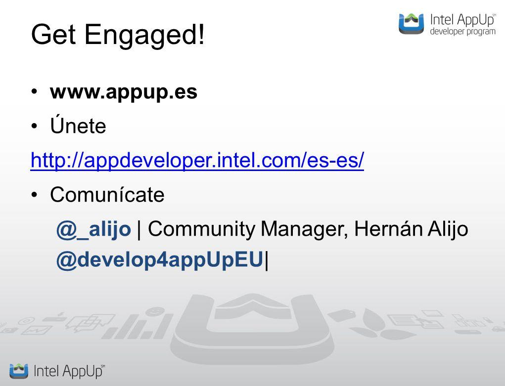Get Engaged.