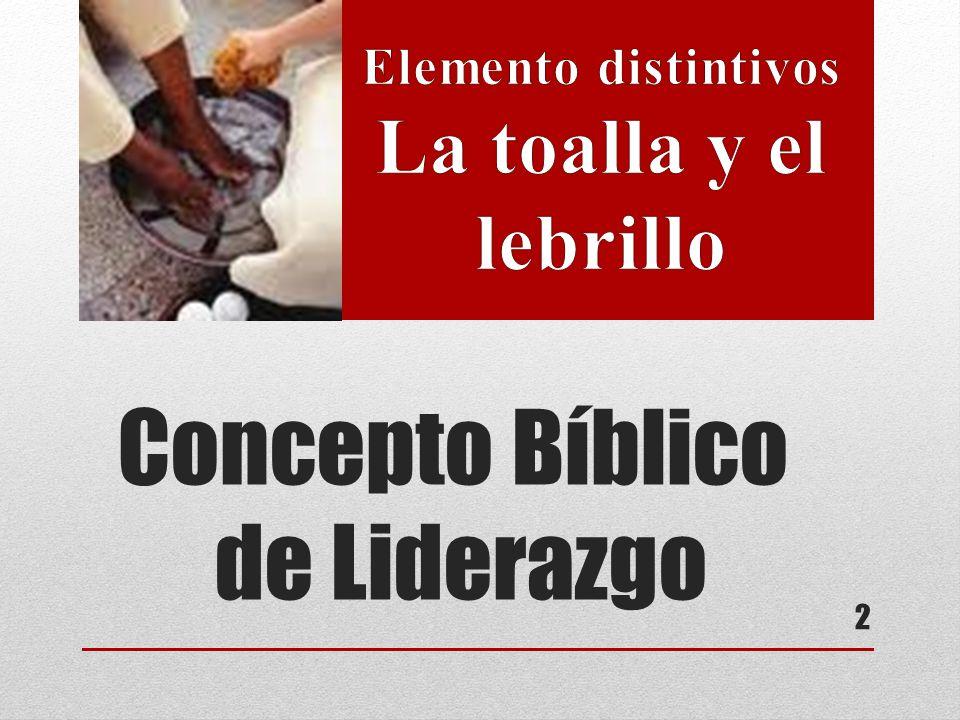 Concepto Bíblico de Liderazgo 2