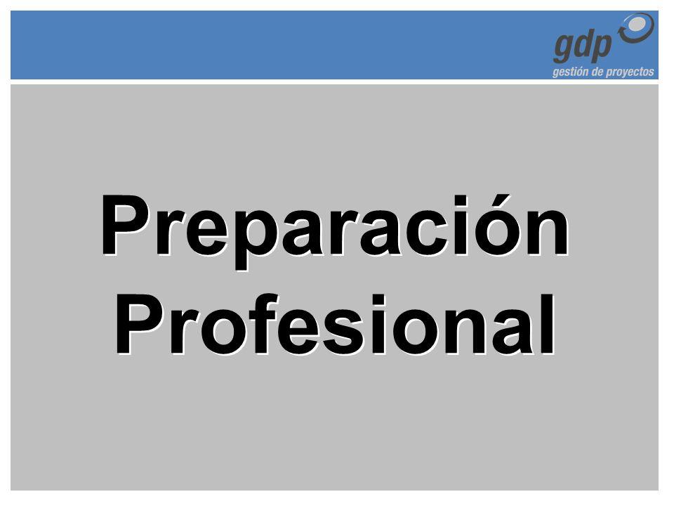 Preparación Profesional