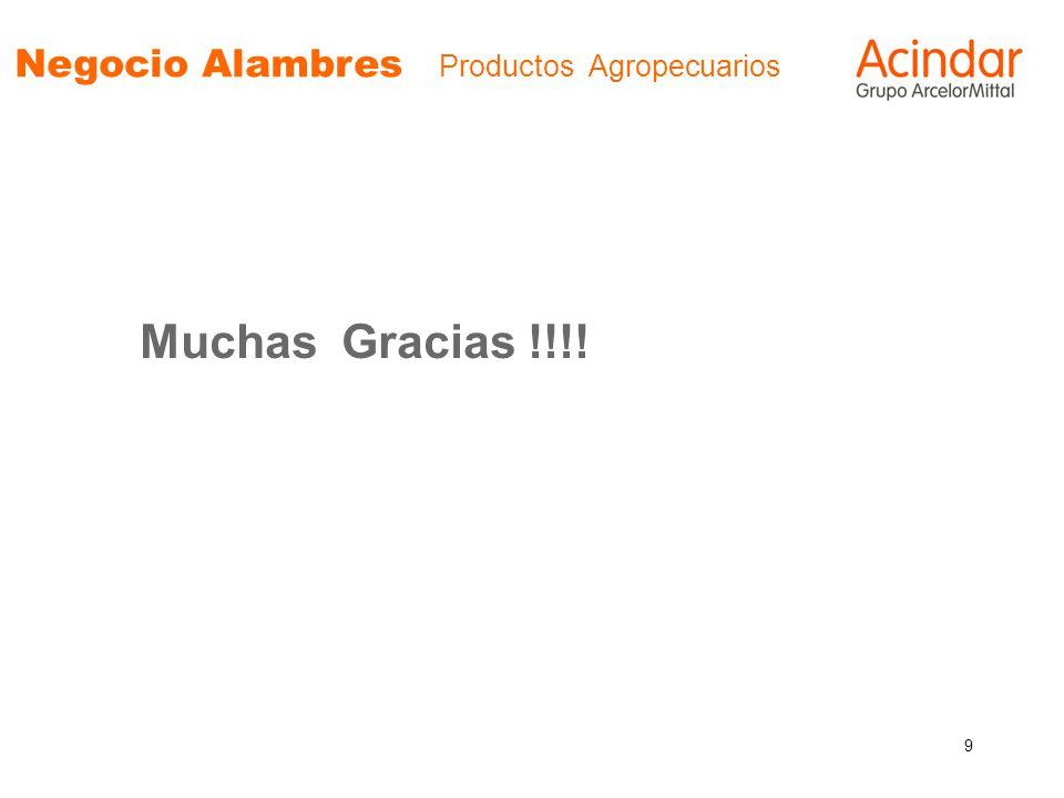 9 Negocio Alambres Productos Agropecuarios Muchas Gracias !!!!