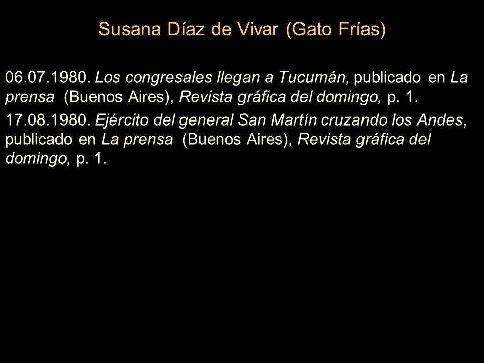 Susana Díaz de Vivar (Gato Frías) 06.07.1980.