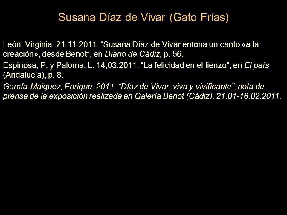 Susana Díaz de Vivar (Gato Frías) León, Virginia.21.11.2011.
