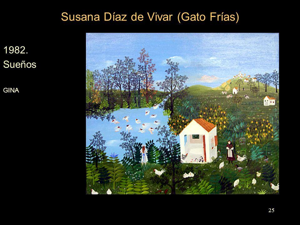 Susana Díaz de Vivar (Gato Frías) 1982. Sueños GINA 25