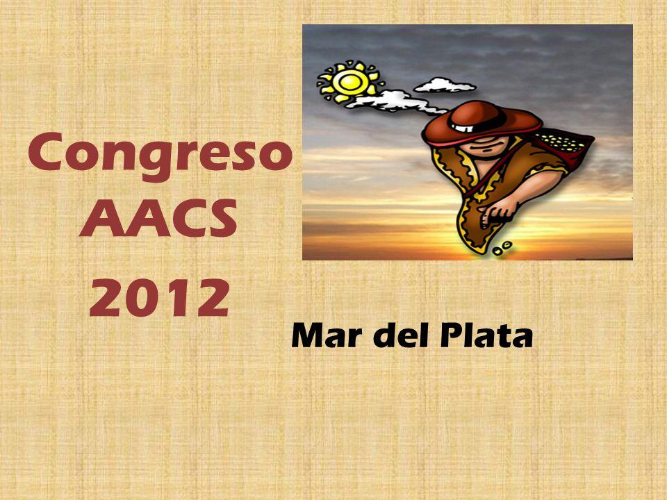 Mar del Plata Congreso AACS 2012