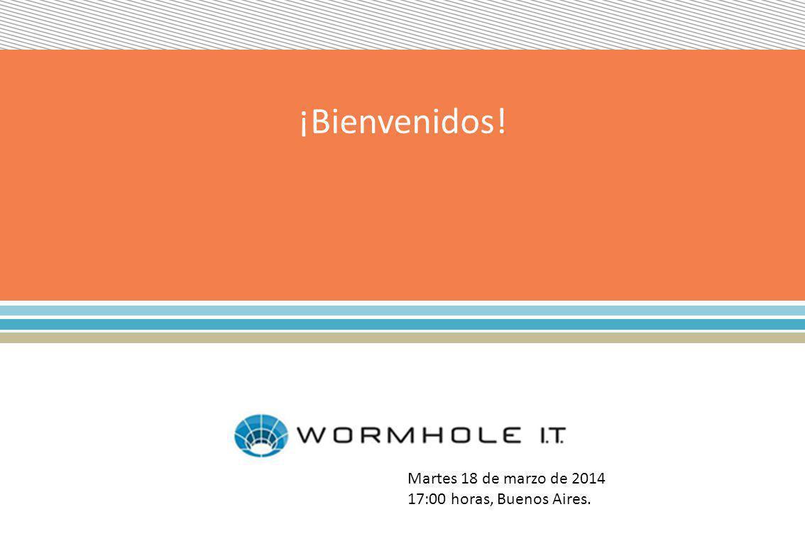 ¡Bienvenidos! Martes 18 de marzo de 2014 17:00 horas, Buenos Aires.