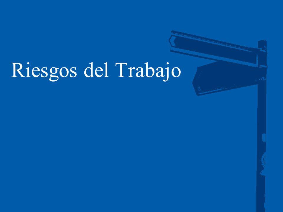 Auditoría. Impuestos. Consultoría. Corporate Finance 19 Riesgos del Trabajo