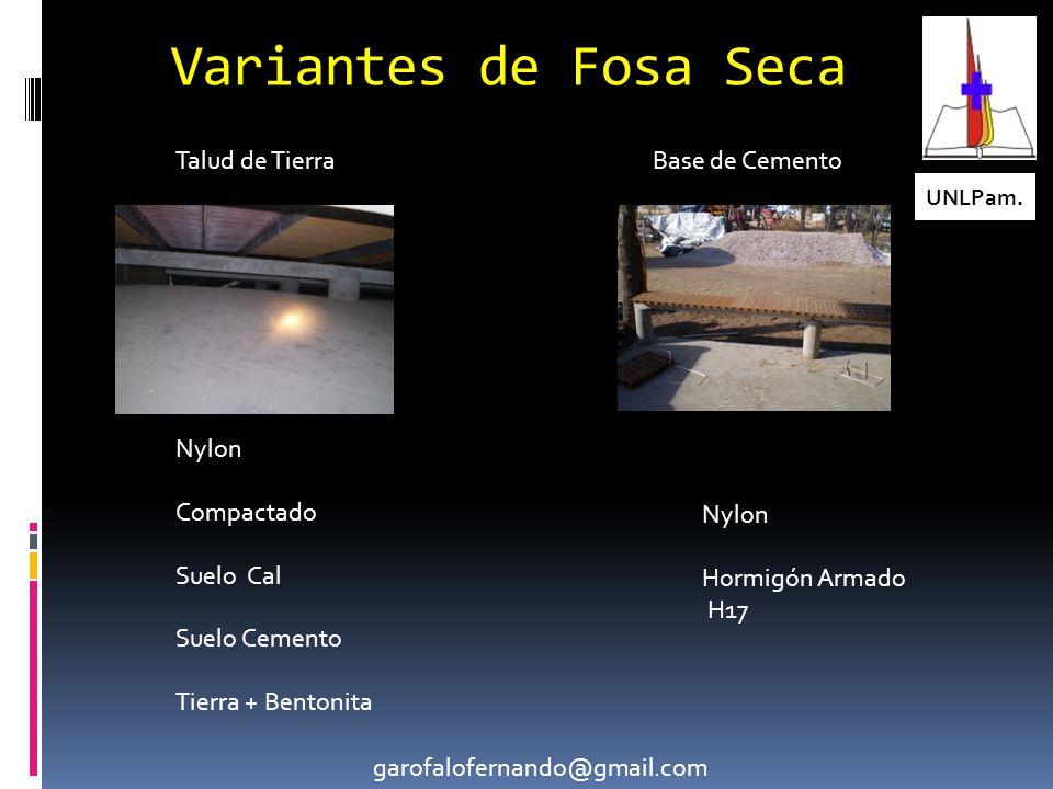 Variantes de Fosa Seca UNLPam.