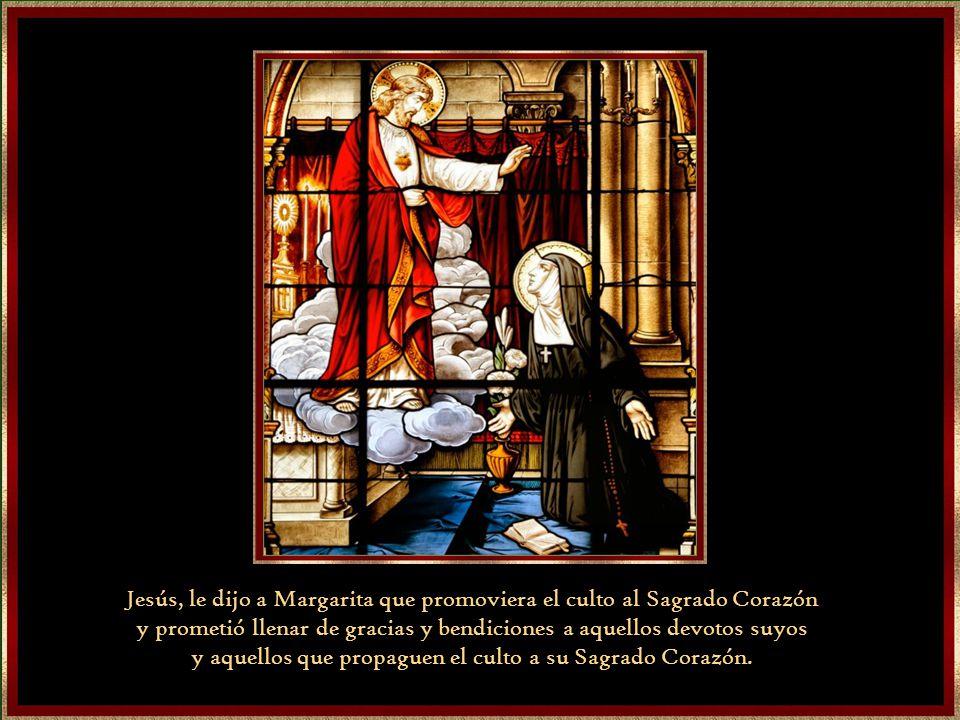 El corazón que vio Margarita era un corazón coronado por la llamas que significa el infinito amor que Jesús nos tiene. Y esta rodeado de espinas porqu