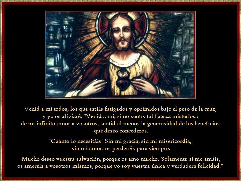Las 12 Promesas 1)A las almas consagradas a mi Corazón, les daré las gracias necesarias para su estado de vida. 2)Daré paz a sus familias. 3)Les conso