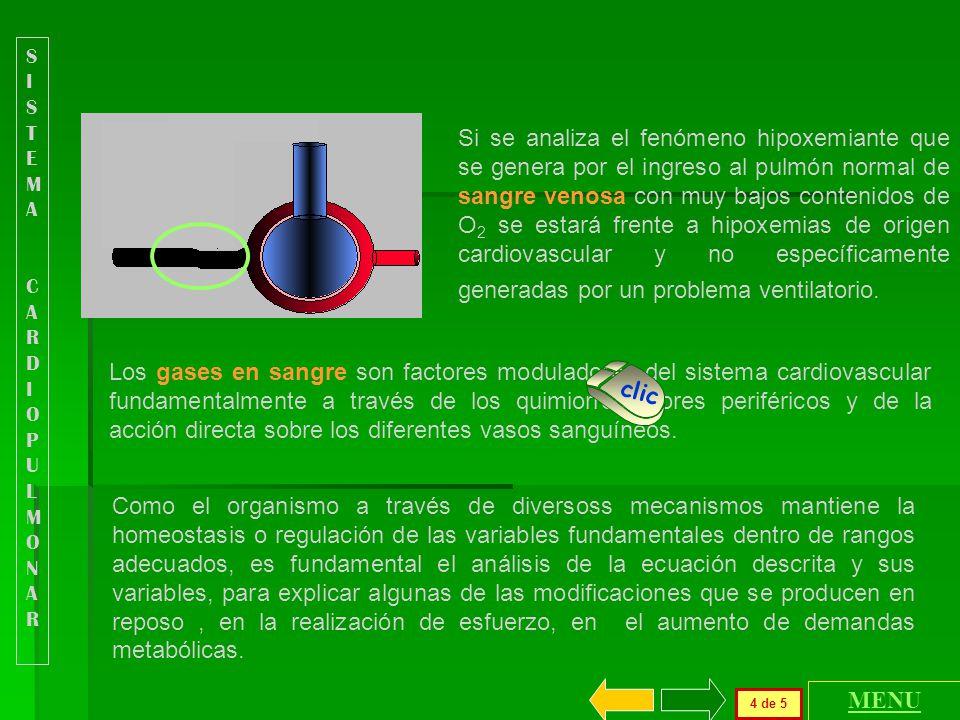 V O2 = Dav O2 * Q Durante la realización de diferentes actividades, la.......................... demanda de O 2 aumenta y el V O2 puede incrementarse