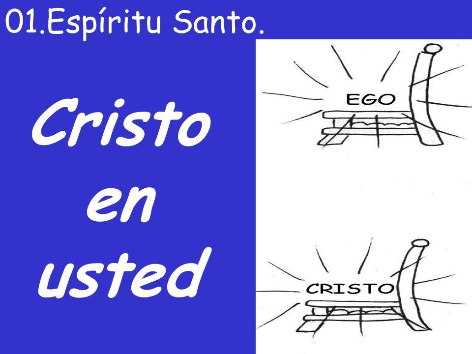 Cristo en usted 01.Espíritu Santo.