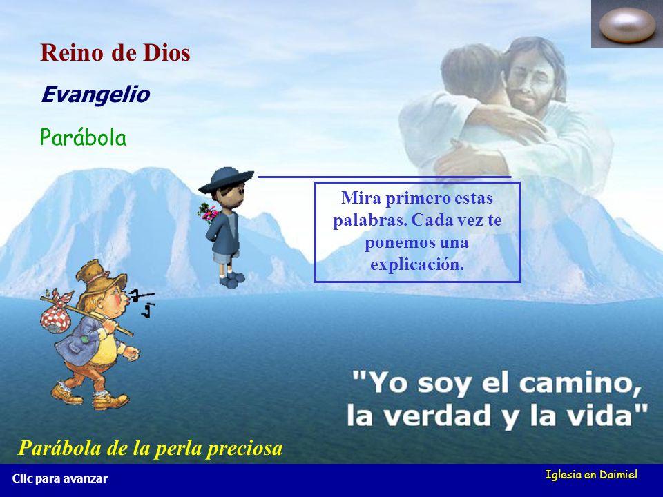 Iglesia en Daimiel Hola, chicos (as), os voy a presentar... Parábolas del Reino de Dios Parábolas del Reino de Dios También os presento a Juan, un jov