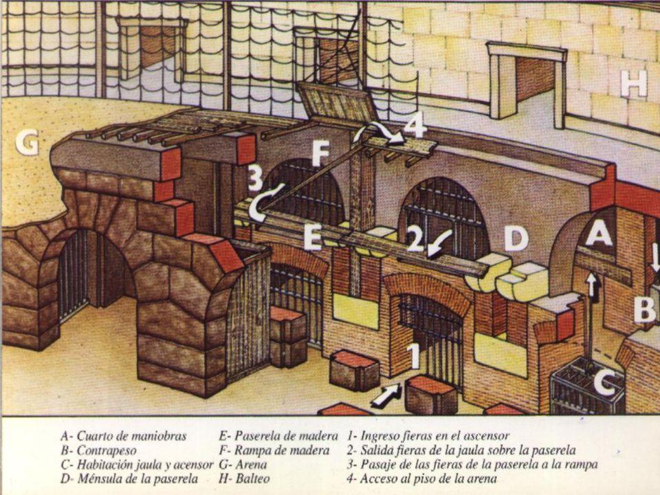 Mosaico que muestra a una Cuádriga romana