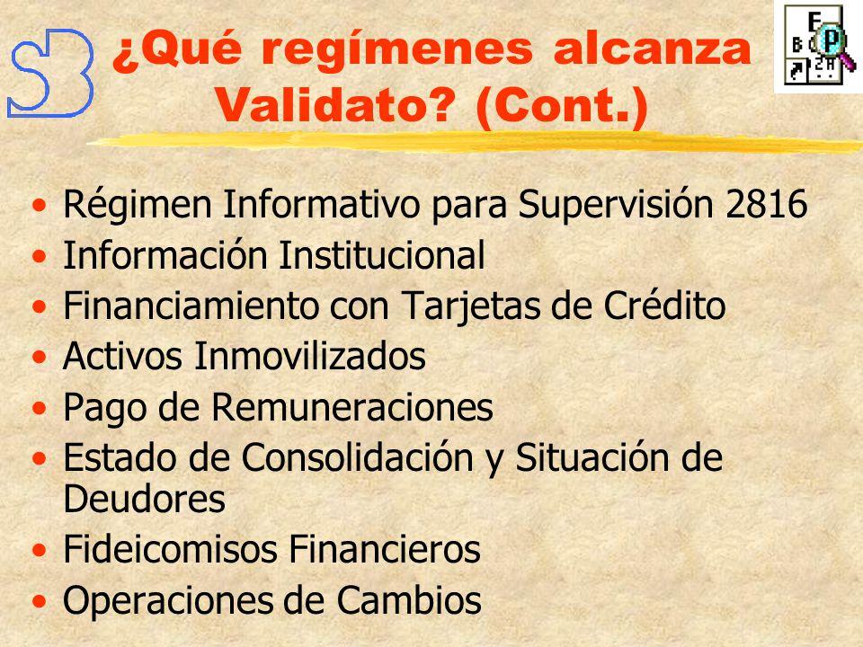 Sentencias Judiciales Cuentas Habilitadas Prevención del Lavado de Dinero Seguimiento de Anticipos y Préstamos de Prefinanc.