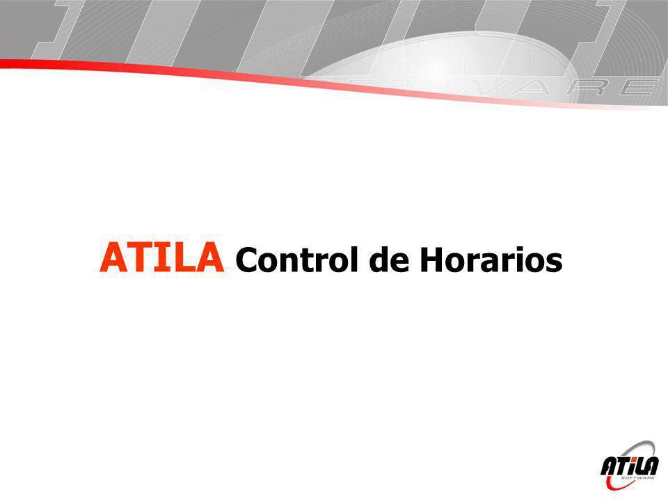 ATILA Control de Horarios