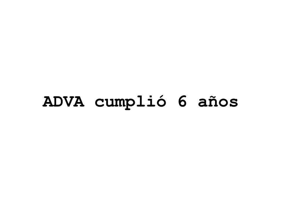 ADVA cumplió 6 años