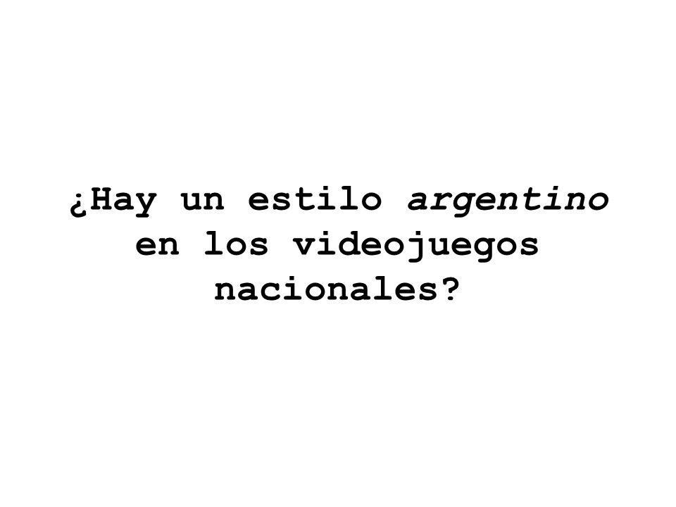 ¿Hay un estilo argentino en los videojuegos nacionales?